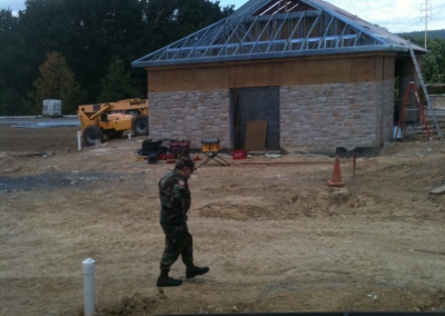 Building New Honor Guard Station at Fort Indiantown Gap