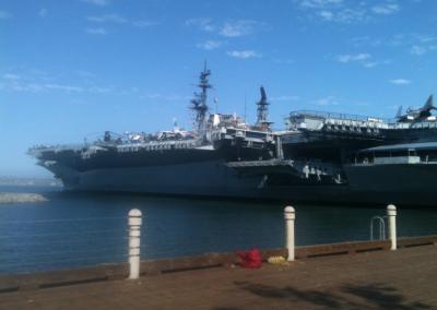USS Midway - San Diego Harbor